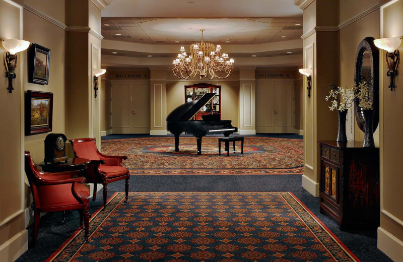Piano and Rooms at The Hotel at Auburn University and Dixon Conference Center