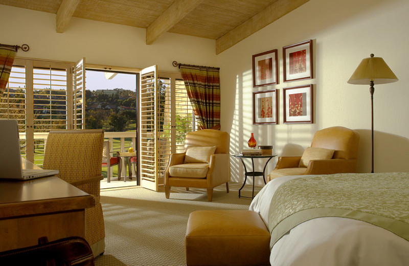 Guest room at Rancho Bernardo Inn.