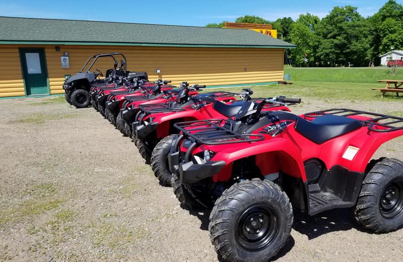 ATV at McQuoid's Inn & Event Center.