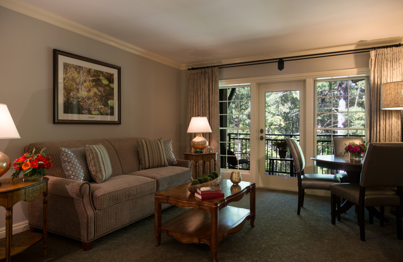 Guest room at The Lodge at Woodloch