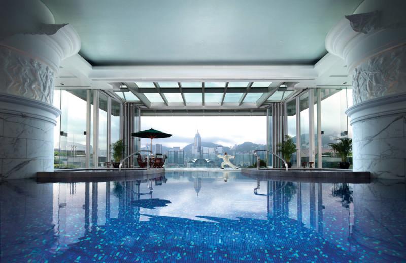 Pool at Peninisula-Hong Kong.