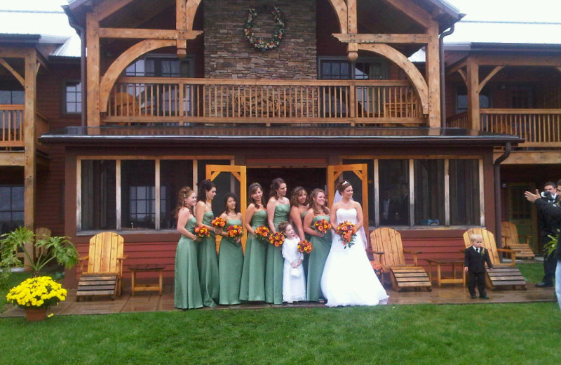 Weddings at August Lodge Cooperstown.