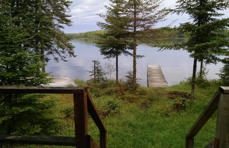 Lake view at The Arrows Resort.