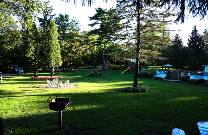 Grounds at Birchcliff Resort.