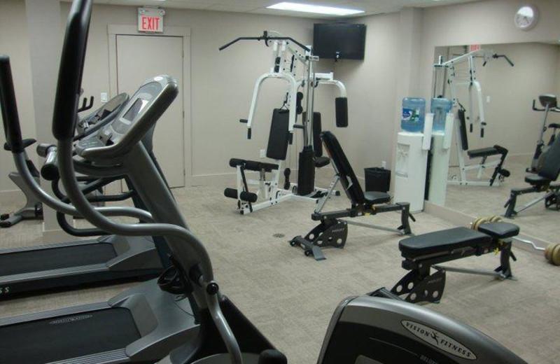 Fitness room at Sawmill Creek Golf Resort & Spa.