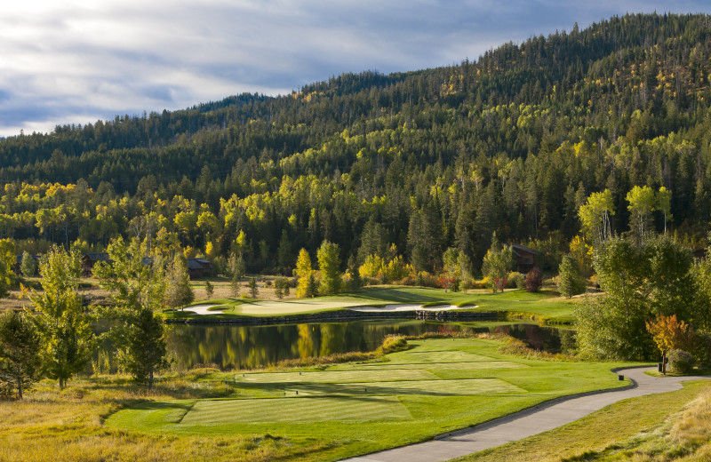 Golf course at Cabin and Company.