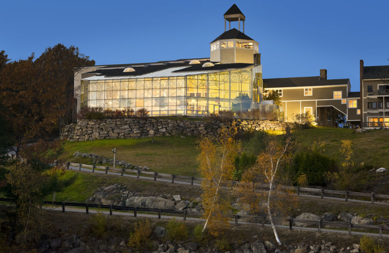 Exterior view of Steele Hill Resorts.
