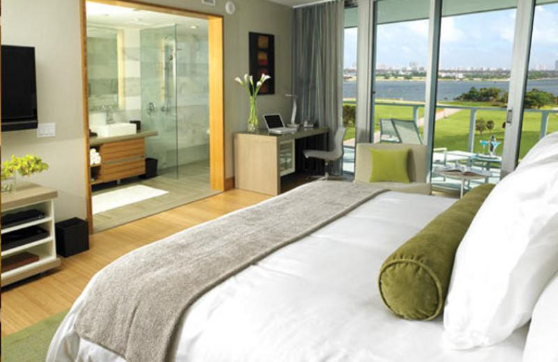 Guest room at Casa Moderna Miami.