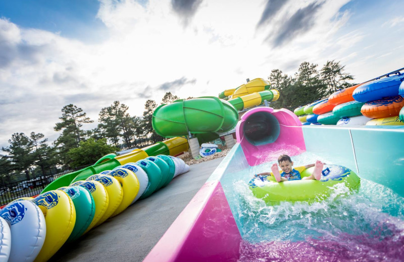 Water park at Yogi Bear's Jellystone Park™ in Luray, VA.