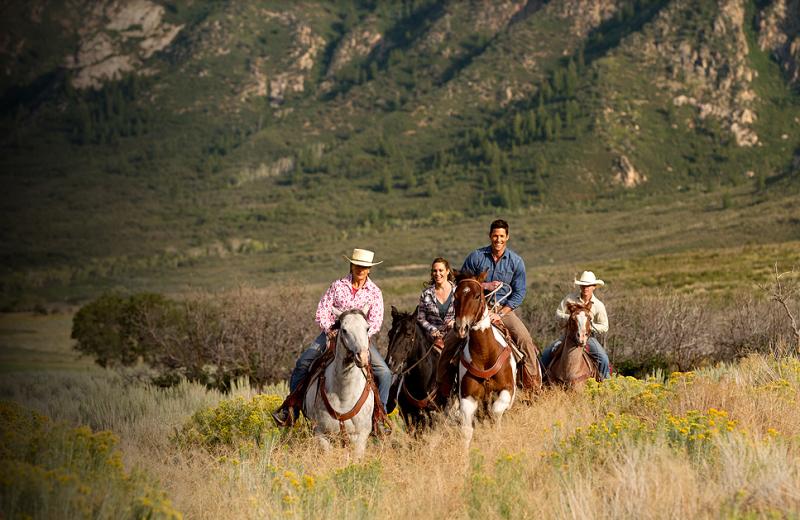 Horseback Riding at Gateway Canyons Resort
