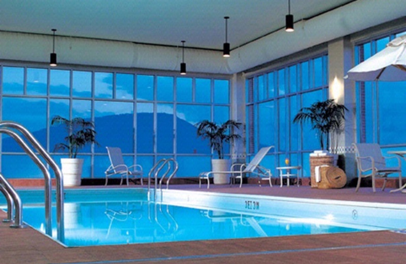 Indoor pool at The Chattanoogan.