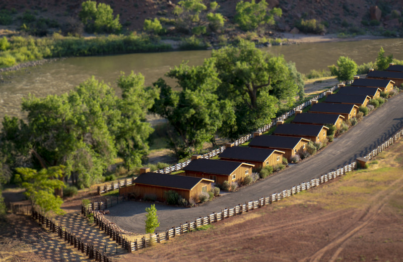 Cabins at Red Cliffs Lodge.