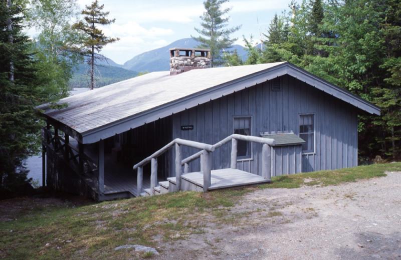 Windfall Cottage exterior at Elk Lake Lodge.