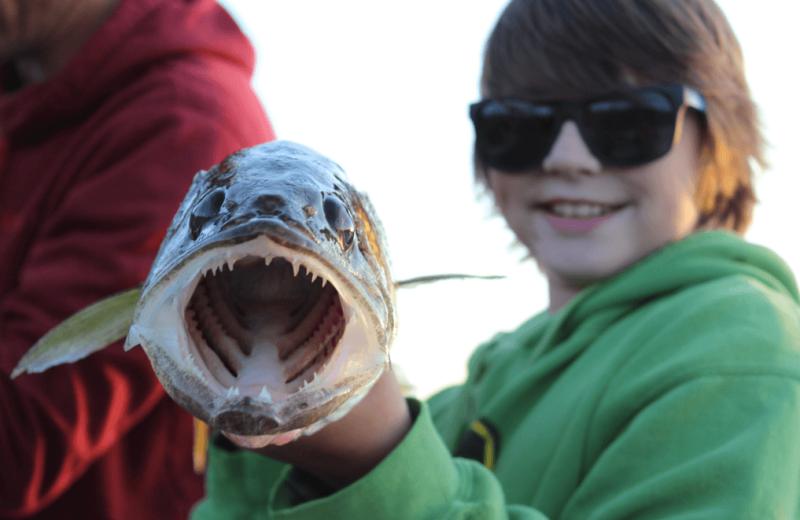 Fishing at Bakers Narrows Lodge.