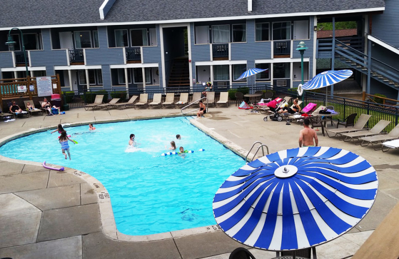 Pool at Surfside on the Lake Hotel & Suites.