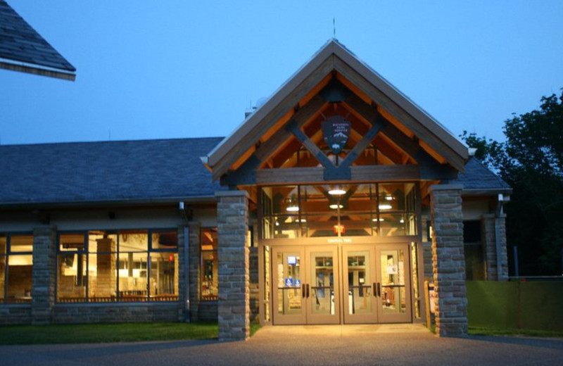 Mammoth Cave Visitor Center at Mammoth Cave Hotel.