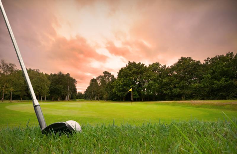 Golf near Fernleigh Lodge.