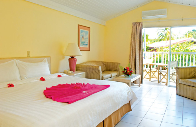 Guest room at Rex Halcyon Cove.