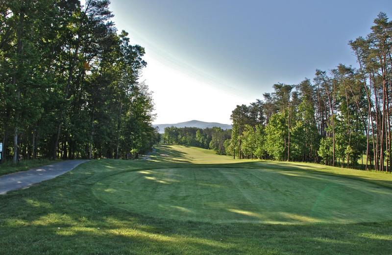 Golf course at Massanutten Resort.