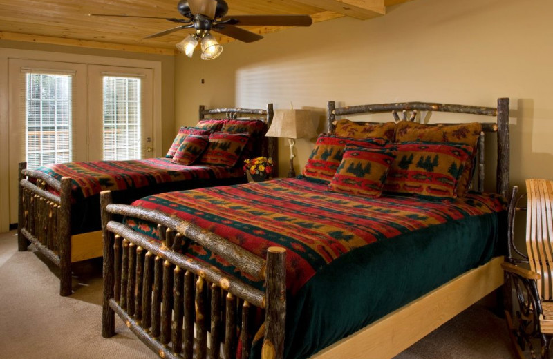 Guest Room at The Alpine Lodge