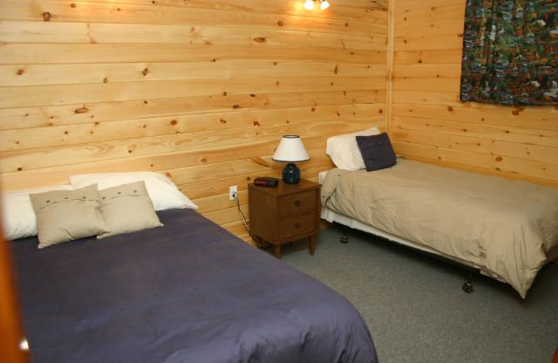 Guest Room at Moosehorn Lodge