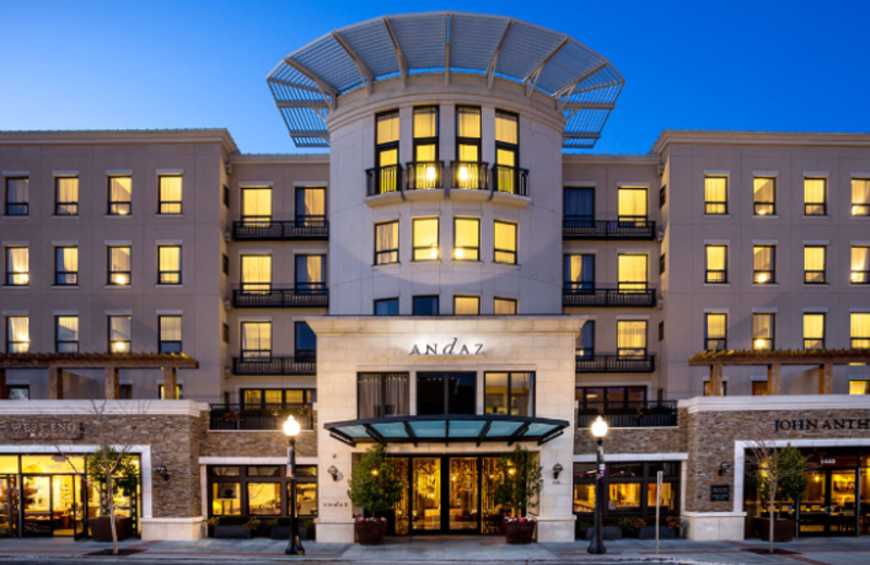 Exterior View of Andaz Napa