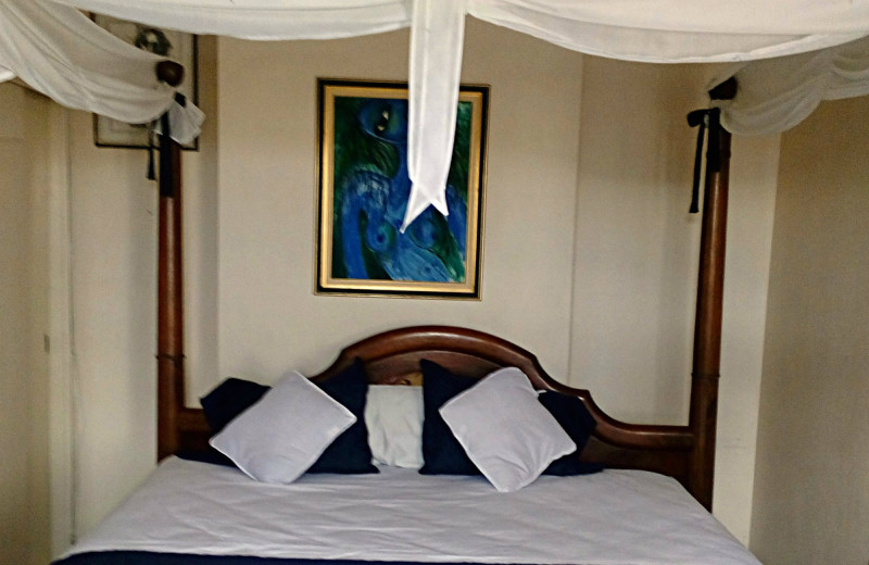 Guest room at Turtle Beach Towers.