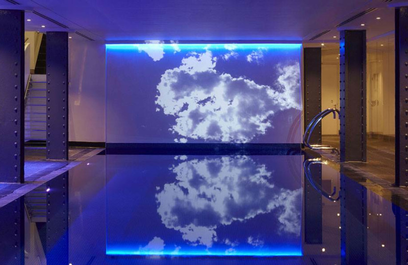 Indoor pool at One Aldwych.