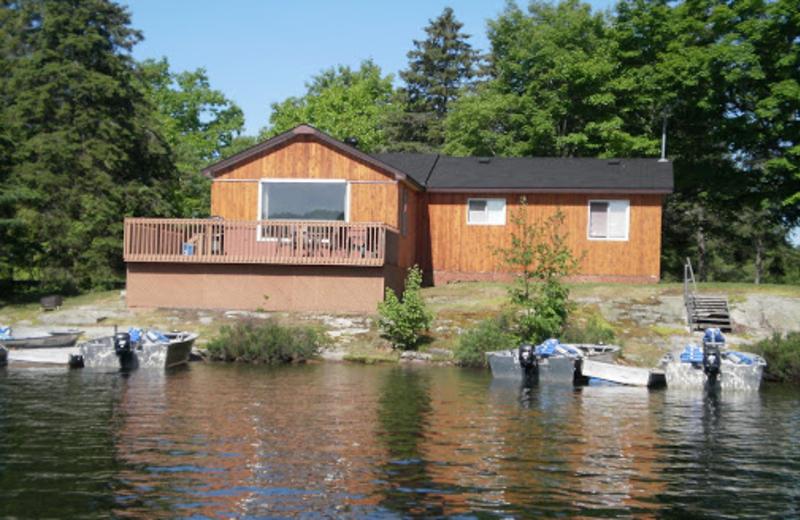Cabin 1 at Waterfalls Lodge