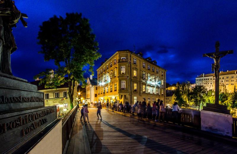 Exterior view of Hotel Dvorak.