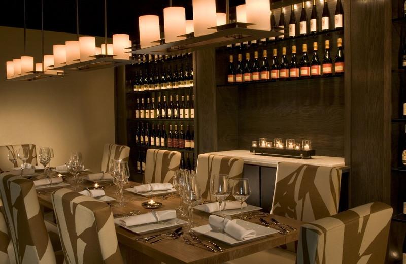 Aerie Wine Room at Grand Traverse Resort.