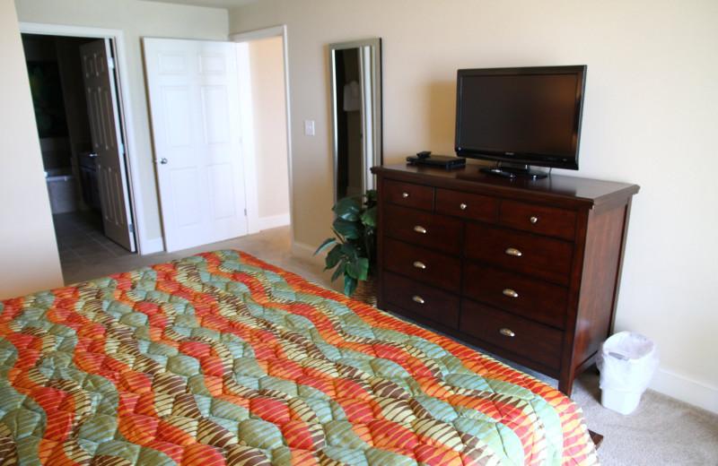 Guest room at Laketown Wharf.