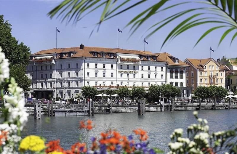Exterior view of Hotel Bayerischer Hof Lindau.