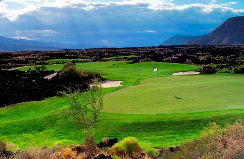 Golf course at The Inn at Entrada.