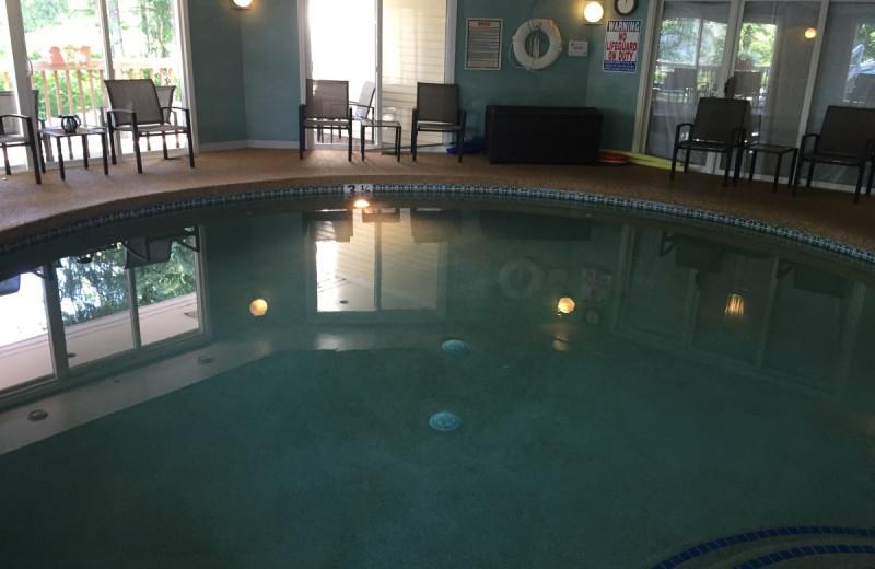 Indoor pool at OgunquitHotels.net.