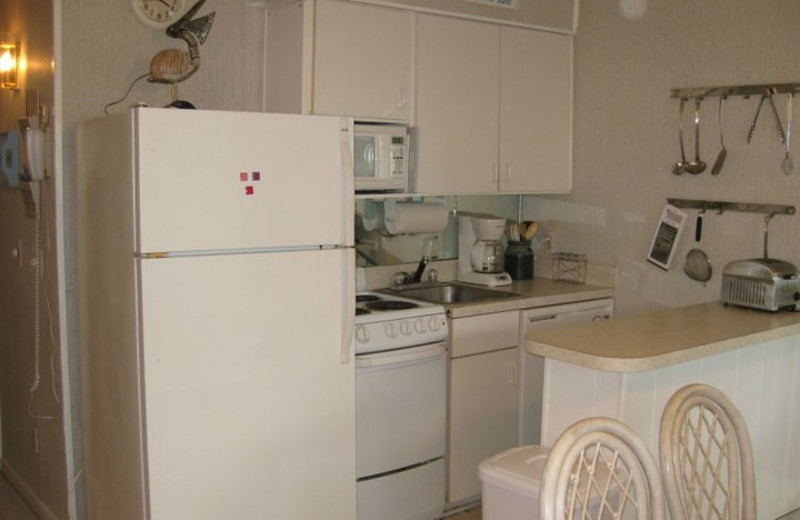 Vacation Rental Kitchen at Beachside Getaway