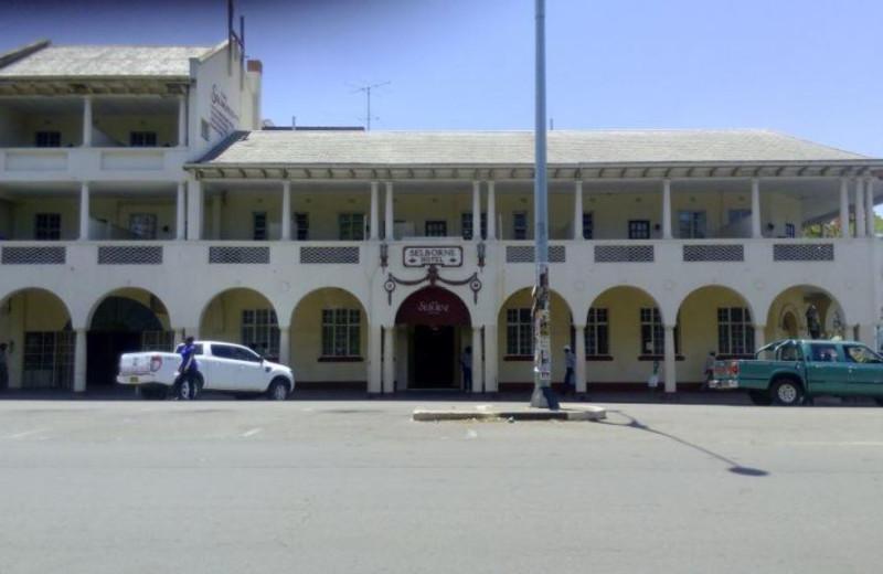 Exterior view of Selborne Hotel.