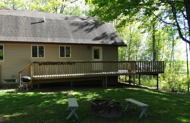 Lodge exterior at Buckhorn Resort.
