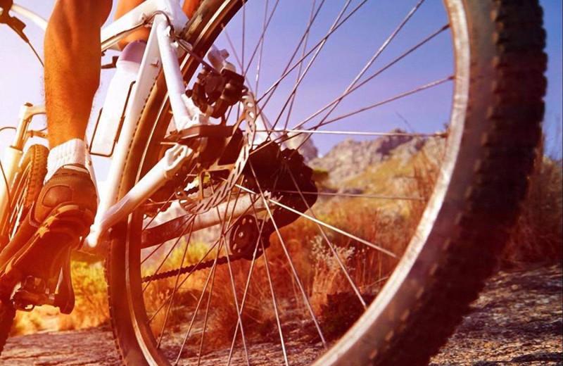 Biking at Redstone Inn.
