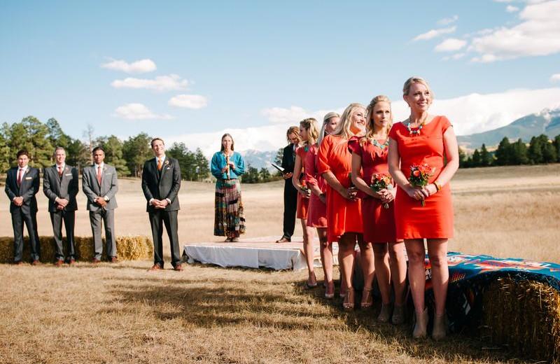 Wedding Ceremony at Chipeta Solar Springs Resort