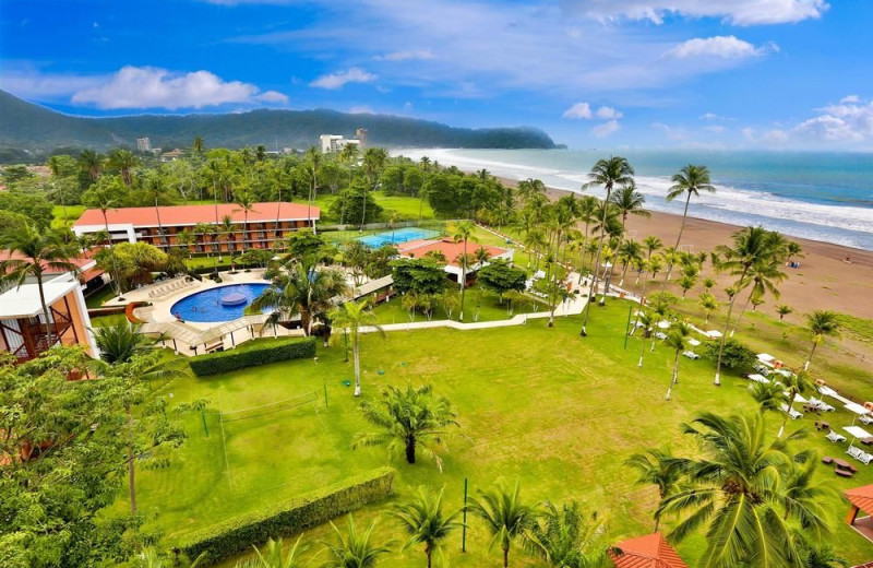 Exterior view of Jaco Beach Resort.