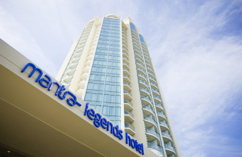 Exterior view of Legends Hotel.