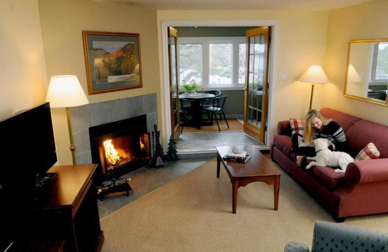 Guest suite at Rocky Crest Golf Resort.