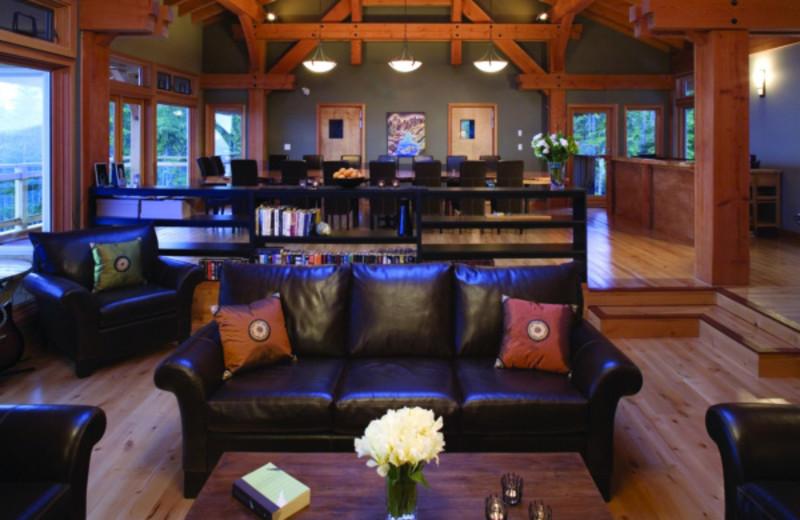 Lounge at Coastal Trek Health and Fitness Resort.