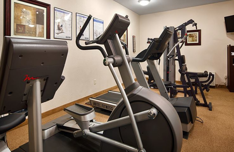 Fitness Center at Best Western Plus Greenville South