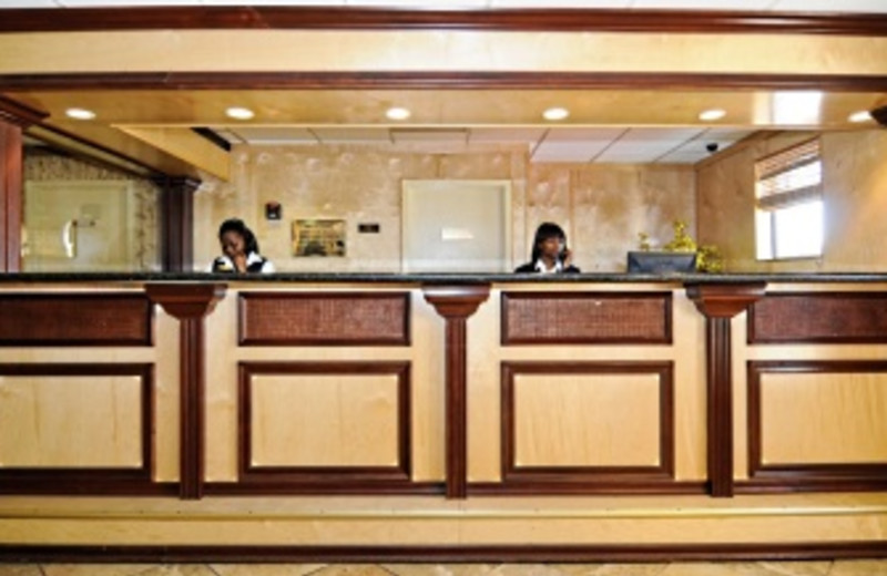 Front Desk at Best Western Plus