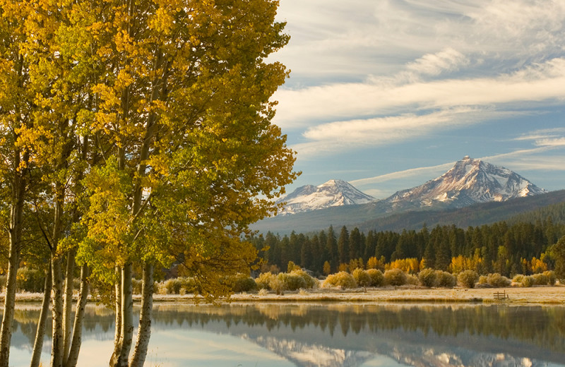 Lake view at Black Butte Ranch.