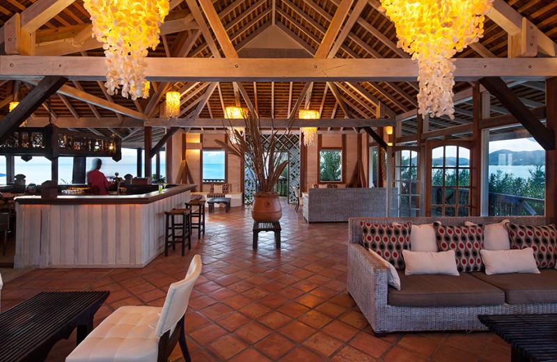 Lounge at Cocobay Resort.