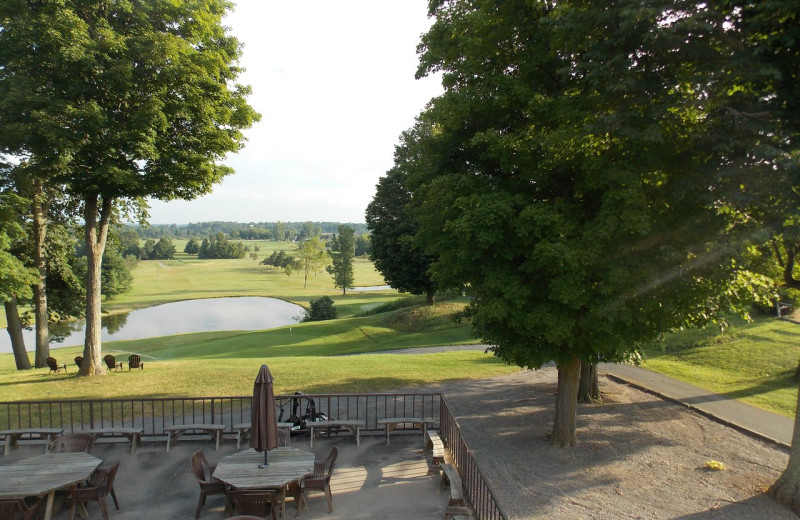 Golf at C-Way Resort.