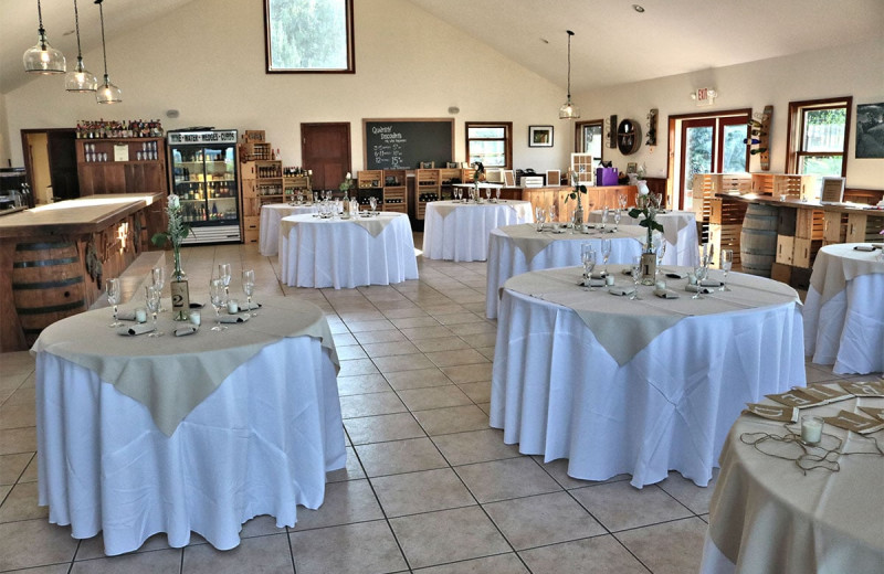 Wedding reception at Buttonwood Grove Winery